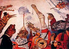 James Ensor - The Frightful Musicians