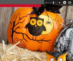 Owl Pumpkin Halloween Owl, Halloween Party Decor, Halloween 2019, Halloween Pumpkins, Halloween Crafts, Halloween Ideas, Happy Halloween, Owl Pumpkin, Pumpkin Ideas