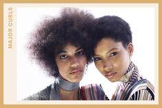 major curls at Missoni | allure.com