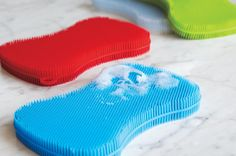 I Tried It: Goodbye Gross Disposables, Hello Silicone Sponge — Small Shifts: Green Your Clean
