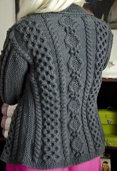 Ruth ... a free pattern at Knitty.com by jannie