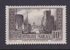 FRANCE 1929/31. N°261B 10FR BRUN NOIR NEUF X  TRES BEAU.  5250€   A309