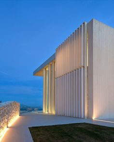 Contemporary Hillside Sardinera House Overlooking the Mediterranean Sea in Spain