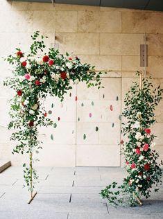 Зелень в декоре свадьбы   Скоро Свадьба