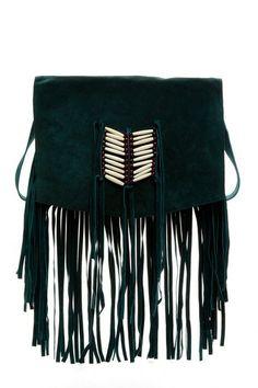 RAJ Maria Trim Fringe Messenger Bag by RAJ on @HauteLook love the color, hate the cultural appropriation...