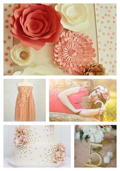 Coral and Ivory Inspiration
