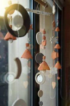 ateliers/cours poterie : mobiles en argile