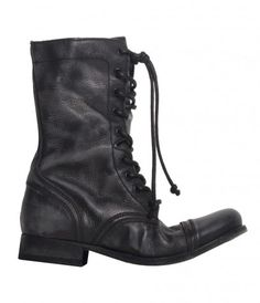 All Saints New Military Boots