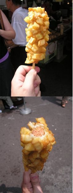 French fry dog....yes please!