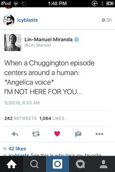 i love that he quotes hamilton about other things, too.