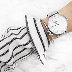 Chique in silver #cluse #silver # mesh