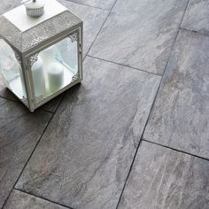 Indus Dark Grey Stone Effect Porcelain Wall Floor Tile Pack Of 6 L 600mm W 300mm