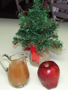 My Blue Cottage: Apple Syrup
