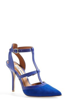 Steve Madden Cobalt Pointy Toe Pump (on sale right now during Nordstrom's Anniversary sale!)