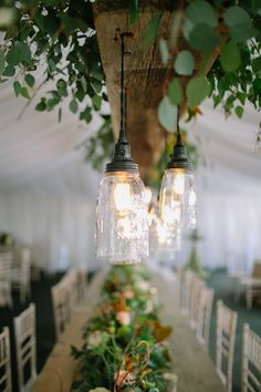 #lighting, #chandelier  Photography: Erin Jean Photography - www.erinjeanphoto.com Floral Design: Buds N Bloom - www.budsnbloom.com Reception Venue: COUPLES HOME - none