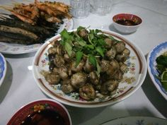 Justin Vo love food Viet Nam: Món sò huyết xào me, Sinh nhật Hải pro, thứ Năm ngày 22/3/2018, 20h05'.
