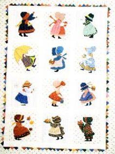 Sunbonnet Sue Quilt Designs | Betty Alderman Patterns and Books