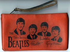 Vintage Beatles clutch purse from the 60s