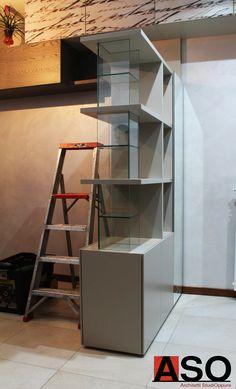 Montaggio mobile su misura - Cantiere Appartamento Via Prenestina