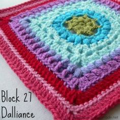 Dalliance Square Block a Week CAL 2014