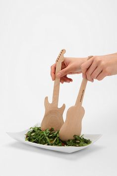 Rockin' Salad Spoon - Set Of 2