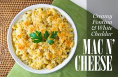 Fontina & White Chedder Mac and Cheese...trying this Thanksgiving!1 CommentTags: cheddar, cheese, cream cheese,
