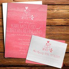 Tree Wedding Invitation