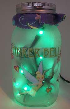 tinkerbell jar