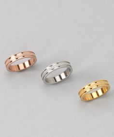 HMY Jewelry Gold & Rose Gold Ring Set on #zulily!