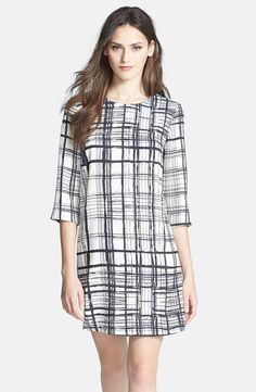 Graphic Print Shift Dress – Fall Dresses! / Clove (Nordstrom Exclusive)