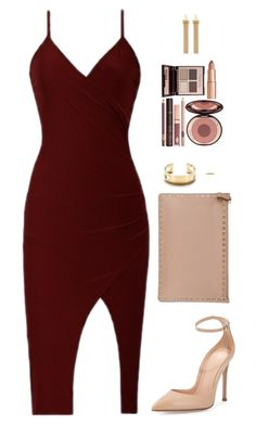 """Sin título #3729"" by mdmsb on Polyvore featuring moda, Gianvito Rossi, Valentino, Tiffany & Co., Charlotte Tilbury y Chloé"
