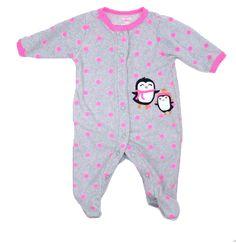 4b157d9f6 Gently used second hand Baby Sleepers. Baby SleepersBaby Clothes OnlinePink  Polka DotsPjsBaby GirlsPenguinsInfantLittle GirlsBedrooms