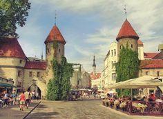 Summer in Tallinn by Pajunen on deviantART. Tallinn, Estonia July 2014