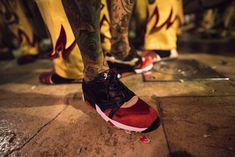 First Look: LimitEDitions X Diadora N9000 'Correfocs' - Sneaker Freaker Italian Sneakers, Shoe Organizer, Sneaker Brands, Me Too Shoes, Traditional, Towers, Continue Reading, Festivals, Spanish