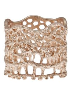 AURELIE BIDERMANN 'Vintage Lace' ring - on Vein - getvein.com