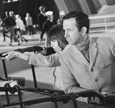 Barbara Feldon and Don Adams