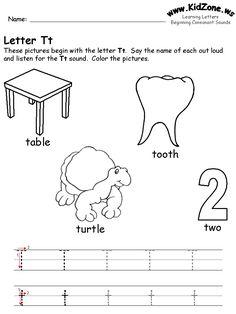 70 Best Letter T images | Letter t worksheets, Preschool activities ...