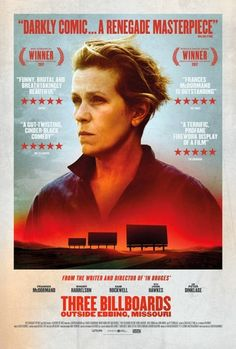 New Posters for Martin McDonagh's 'Three Billboards Outside Ebbing Missouri' - Starring Frances McDormand Sam Rockwell and Woody Harrelson