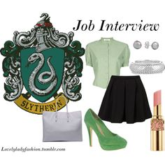 """""""Job Interview"""" by nearlysamantha on Polyvore"""