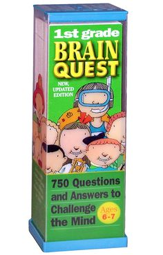 Brain Quest Grade 1 by Workman Publishing - $10.95
