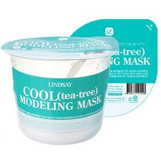 Lindsay Cool Tea-Tree Modeling Rubber Mask, available at Glow Recipe. http://beautyeditor.ca/2016/09/01/korean-skincare-glow-recipe