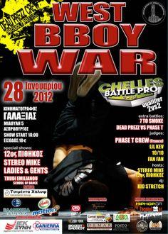 West Bboy War 2012