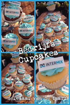 Bedrijfs cupcakes