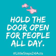 Random acts of kindness day 2!  As we zoom in and out of schools elevators and offices...smile and hold the door open for the next person.  Give it go!  #mylittlesteps #dogood #givingweeksg #impact #holidayseason #community #socialgood #giving