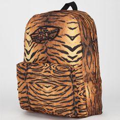 624b16a585e593 VANS Realm Backpack  vans  backpack  leopard Cartables Pour Filles