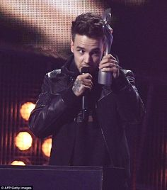 Liam Payne makes surprise appearance at BRIT Awards