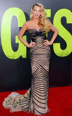 Blake Lively's Best Looks  The Gossip Girl star wows in a Zuhair Murad Couture gown at the L.A. premiere of her new film Savages.