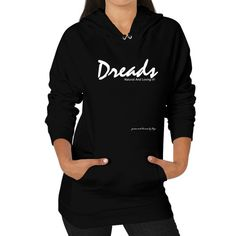 Dreads Hoodie (on woman)