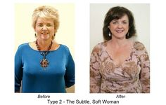 Taking Years Off That Beautiful Face! Dressing Your Truth Makeover Example of a type 2 makeover