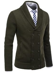 YUNY Mens Merino Oversize Winter Warm Winter Pullover Sweater 1 2XL